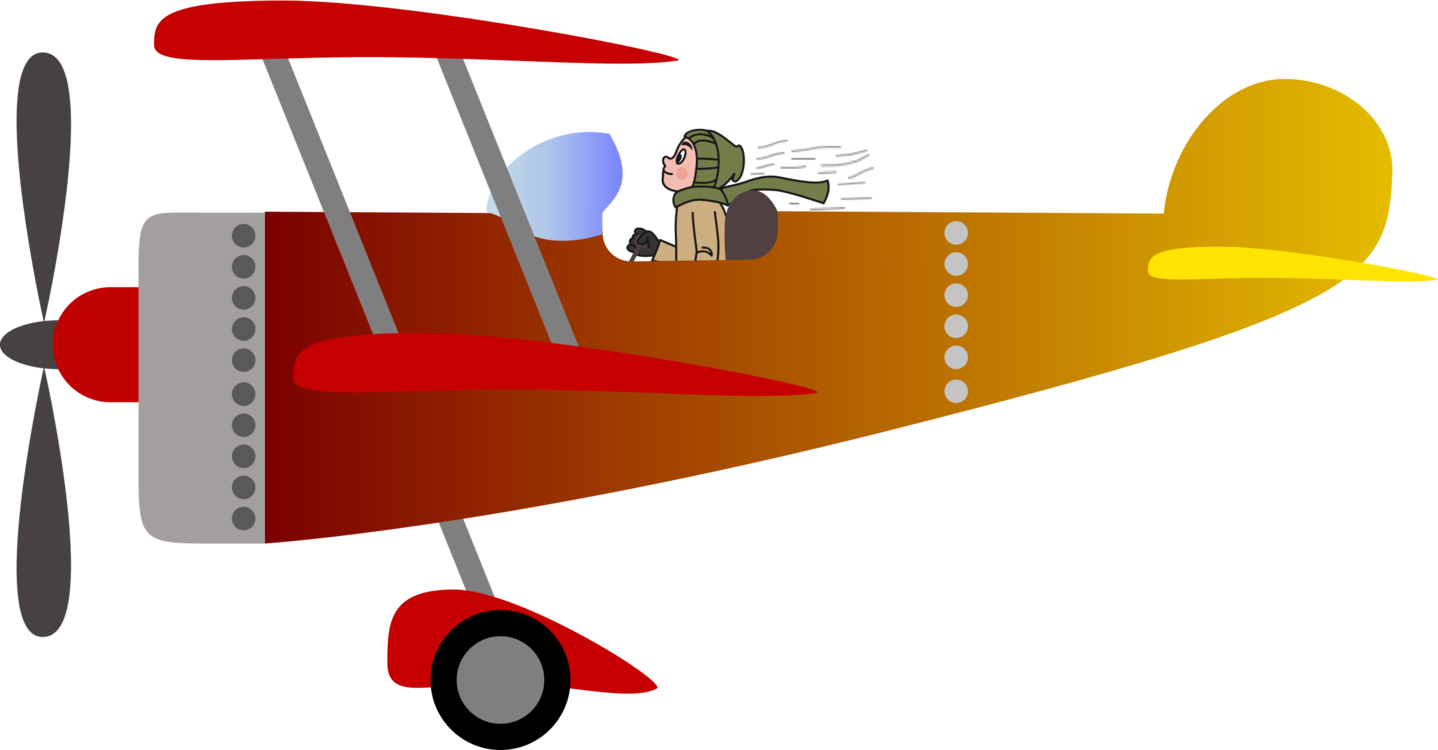 Biplane clipart propeller plane. Airplane fixed wing aircraft