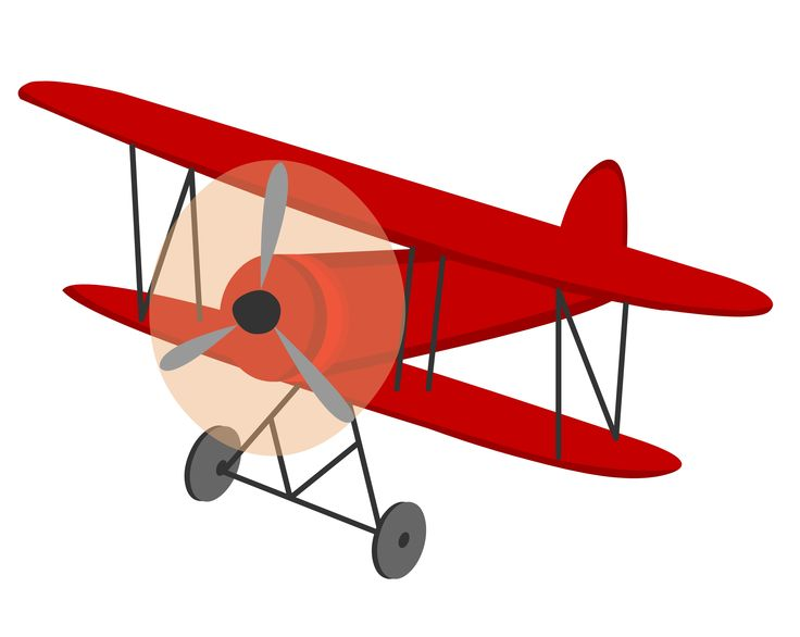 Biplane clipart template. Best vintage airplane