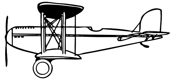 Biplane clipart vintage. Airplane outline google search