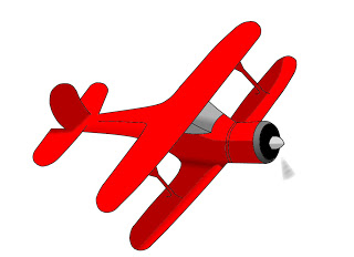 Biplane clipart vintage. Plane silhouette at getdrawings