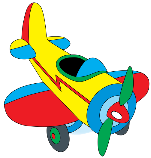 Biplane clipart yellow airplane. Plane clip art library
