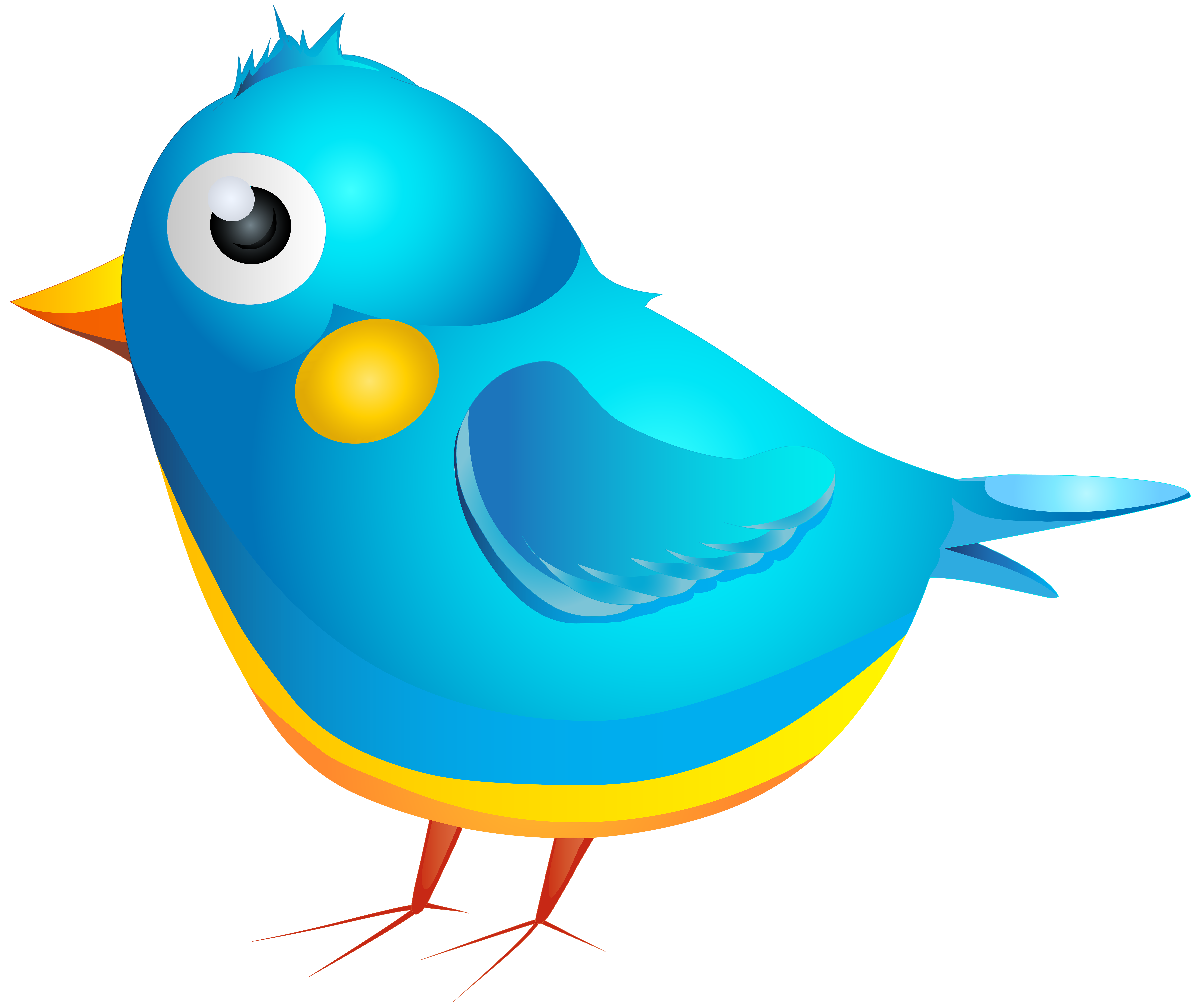 Bird cartoon png. Blue transparent image gallery