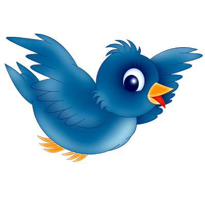 Bird cartoon png. Blue s clip art