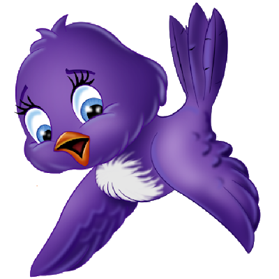Bird cartoon png. Blue images art