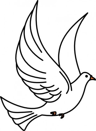Bird clip art black and white. Clipart panda free images