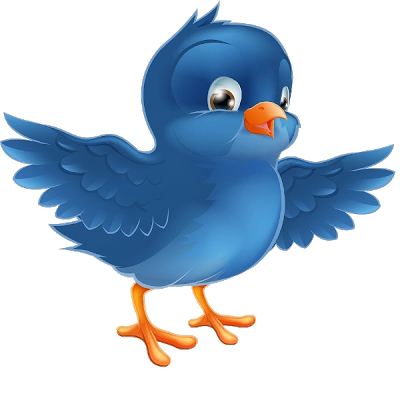 Bird clip art cartoon. Blue birds images of