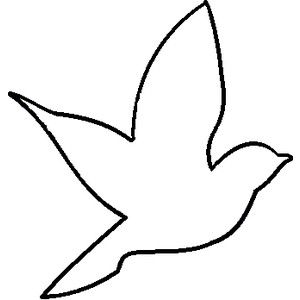 Bird clip art easy. Pictures arts of simple