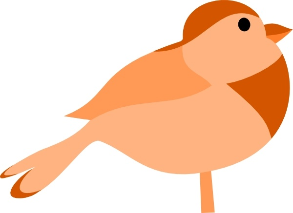 Bird clip art little bird. Free vector in open