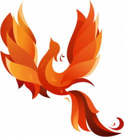 Bird clip art phoenix. Pictures and cliparts download