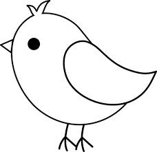 Bird clip art stencil. Best projects images