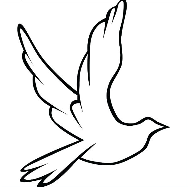 This is an image of Printable Bird regarding clipart