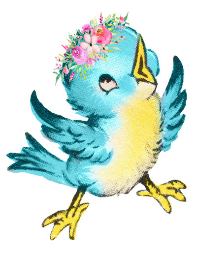 Blue image cute cutout. Bird clip art transparent background graphic black and white download