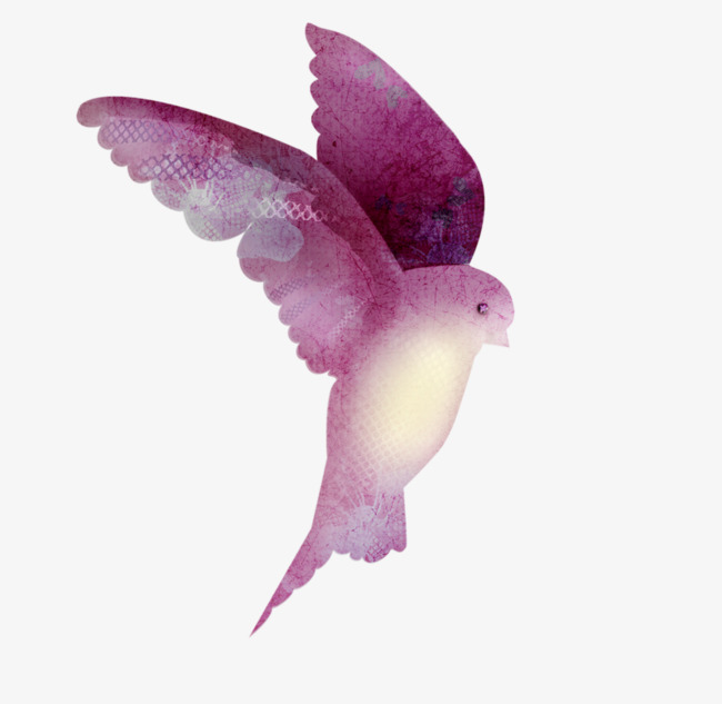 Bird clipart lilac. Painted flying colored png