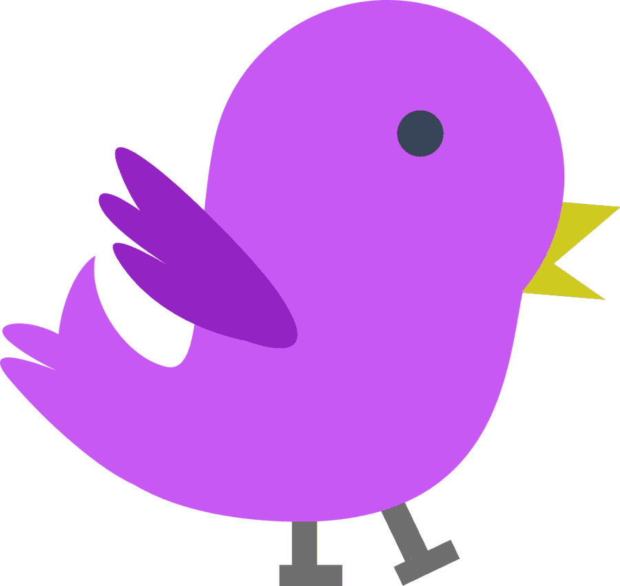 Bird clipart lilac. Purple free icons and