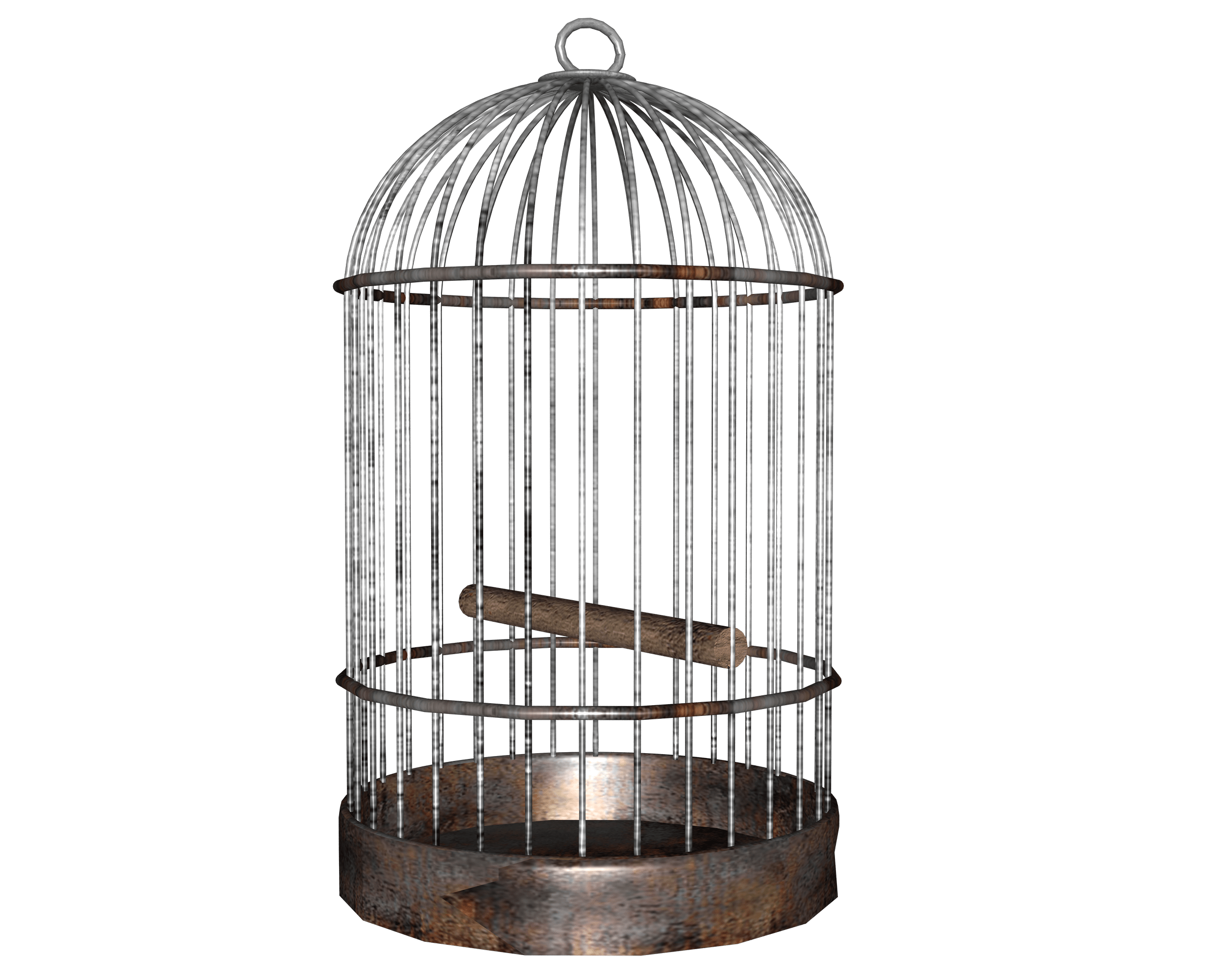 Bird png image purepng. Transparent cage picture black and white