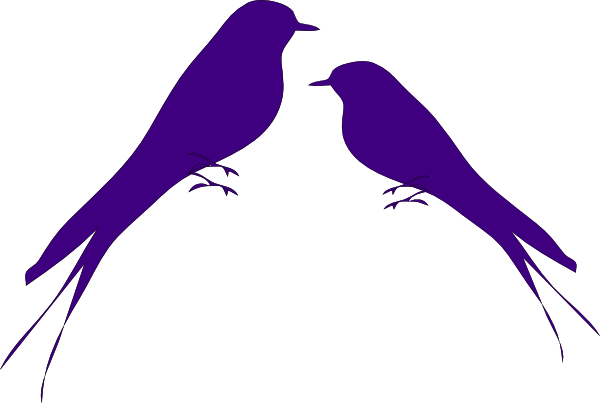 Bird vector png. Love birds clip art