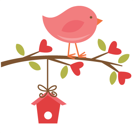 Birdhouse clipart pink. Free border cliparts download