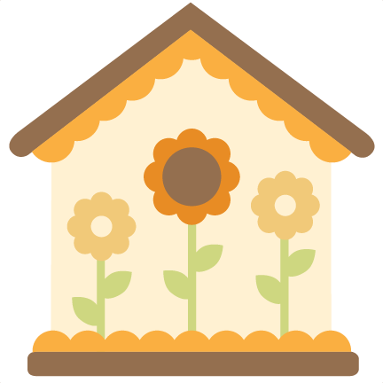 Birdhouse clipart home garden. Svg cutting files for