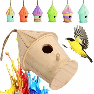 Birdhouse clipart home garden. Big wooden diy bird