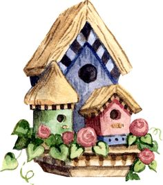 Birdhouse clipart home garden. Snapdragonflags com the place