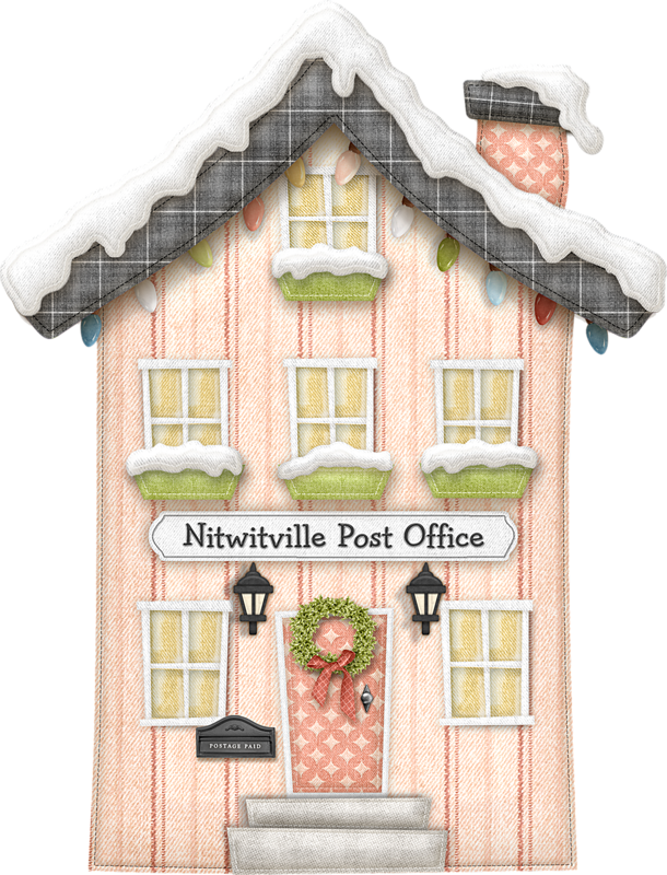 Birdhouse clipart house post. Nitwitville quilting pinterest christmas