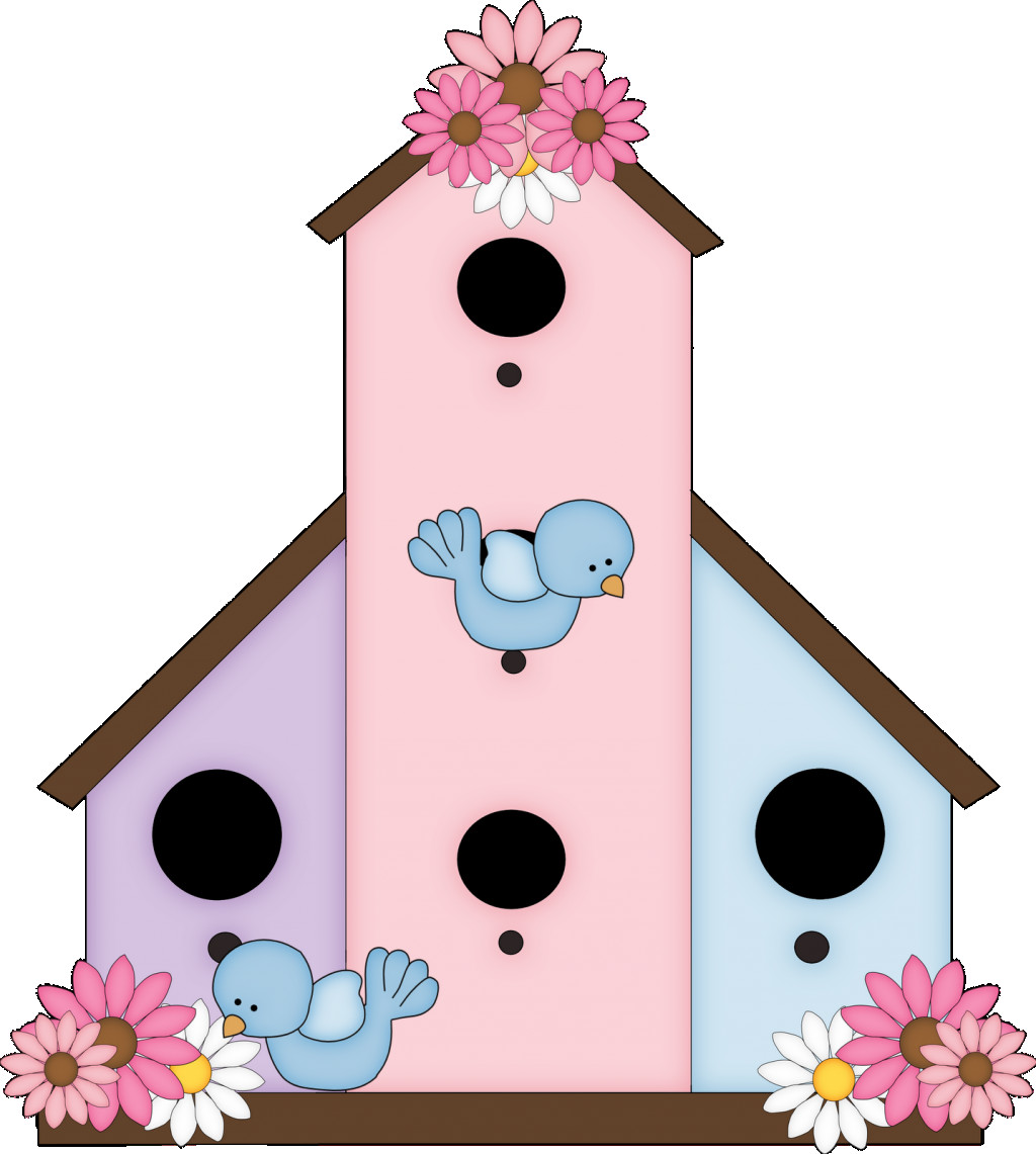 Birdhouse clipart jittery. Cute free images clipartandscrap