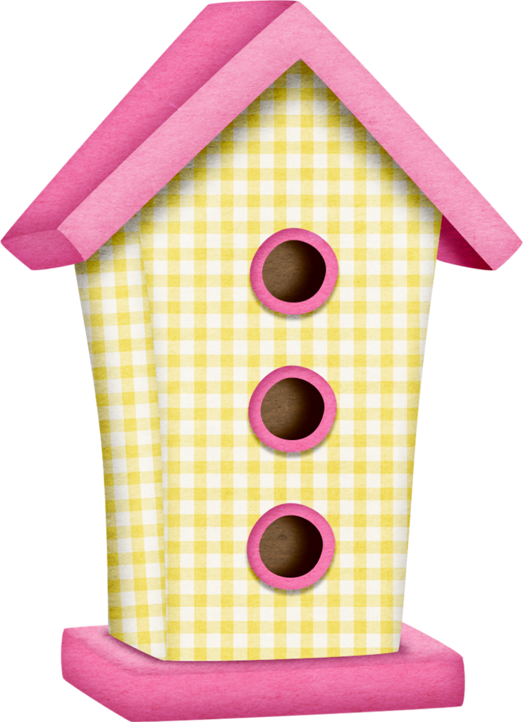 Birdhouse clipart pink. Tborges inflowers png bird