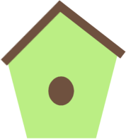 Birdhouse clipart pink. Cute panda free images