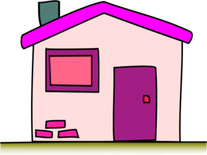 Window clipart pink window. House panda free images