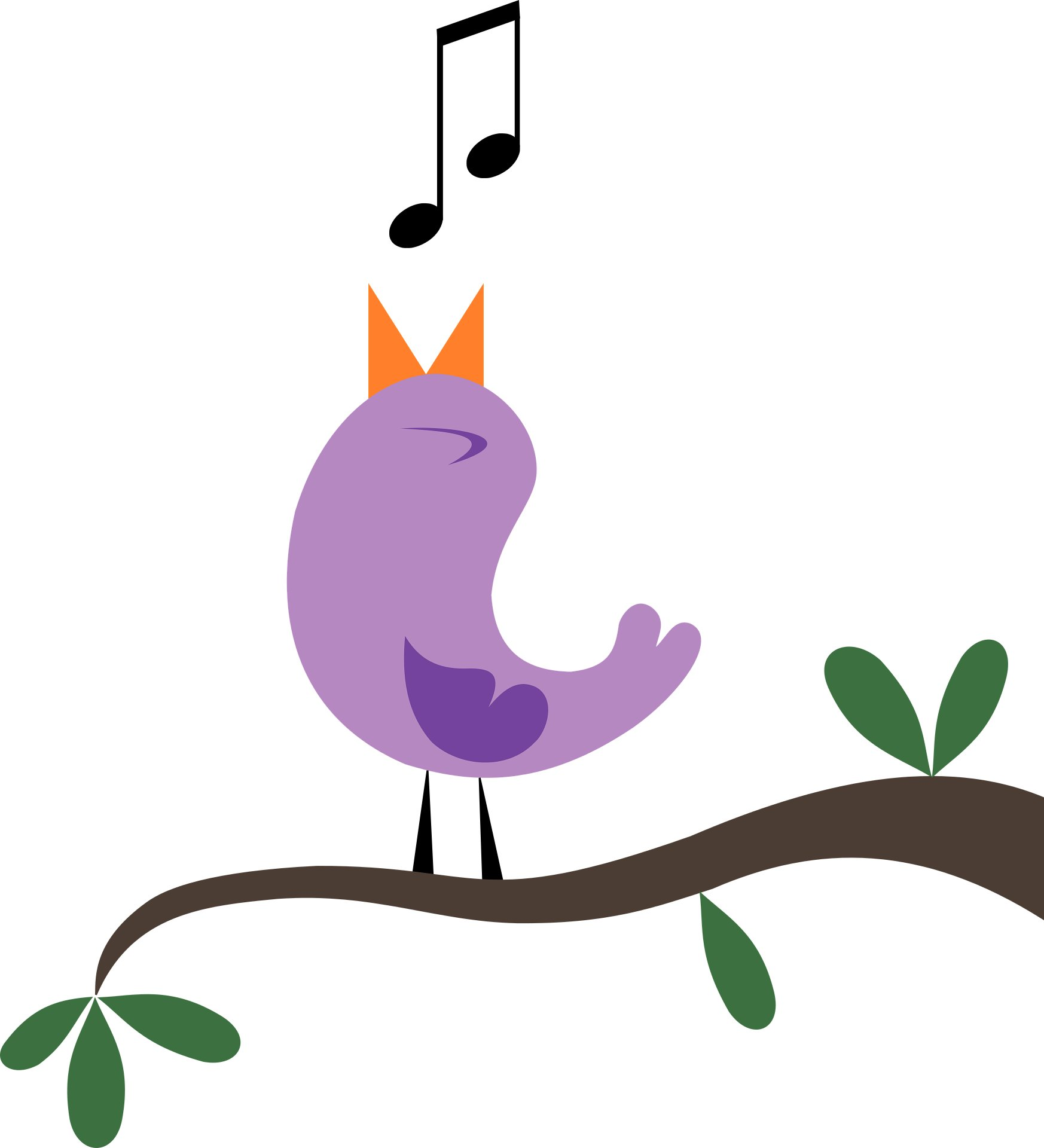 Birds clipart track. Songbirds may hold the