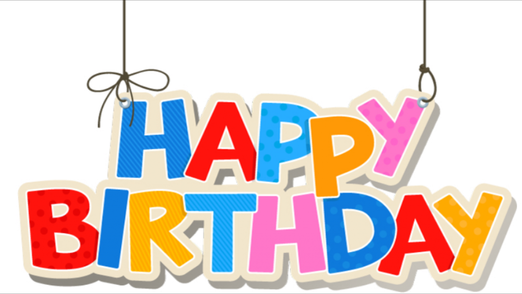 1st birthday png. St transparent background