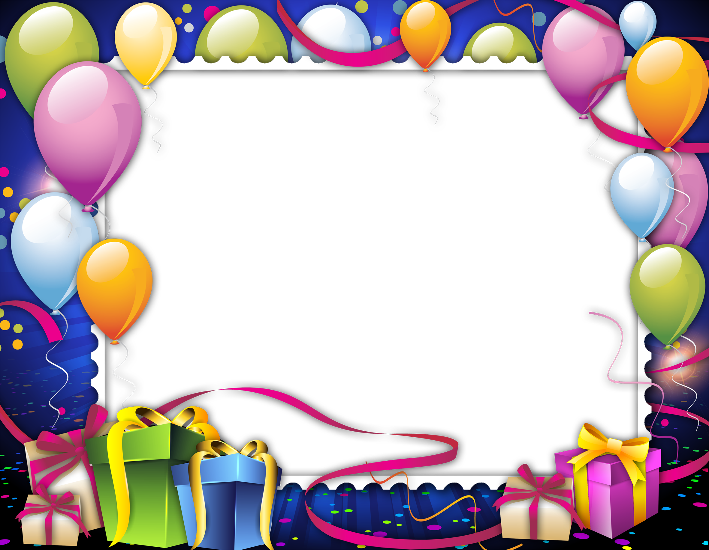 Birthday background png. Frame images free download