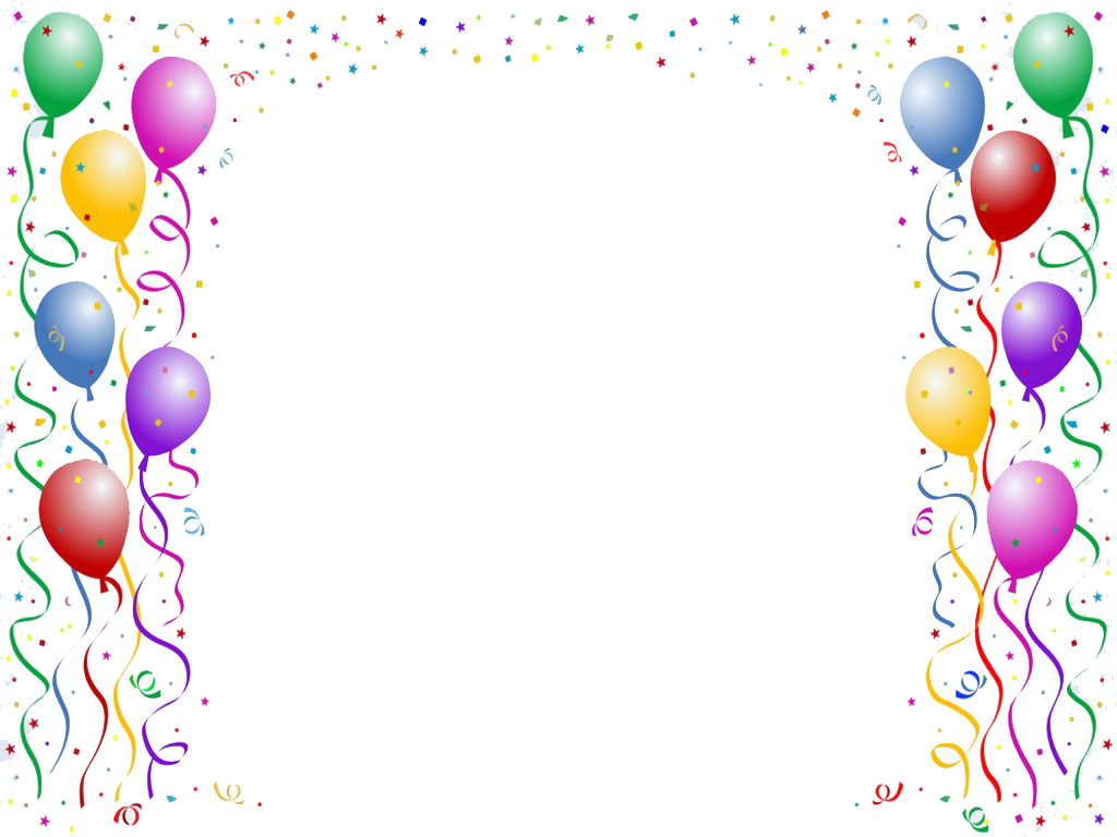 Birthday frames and borders png. Border google search pinterest