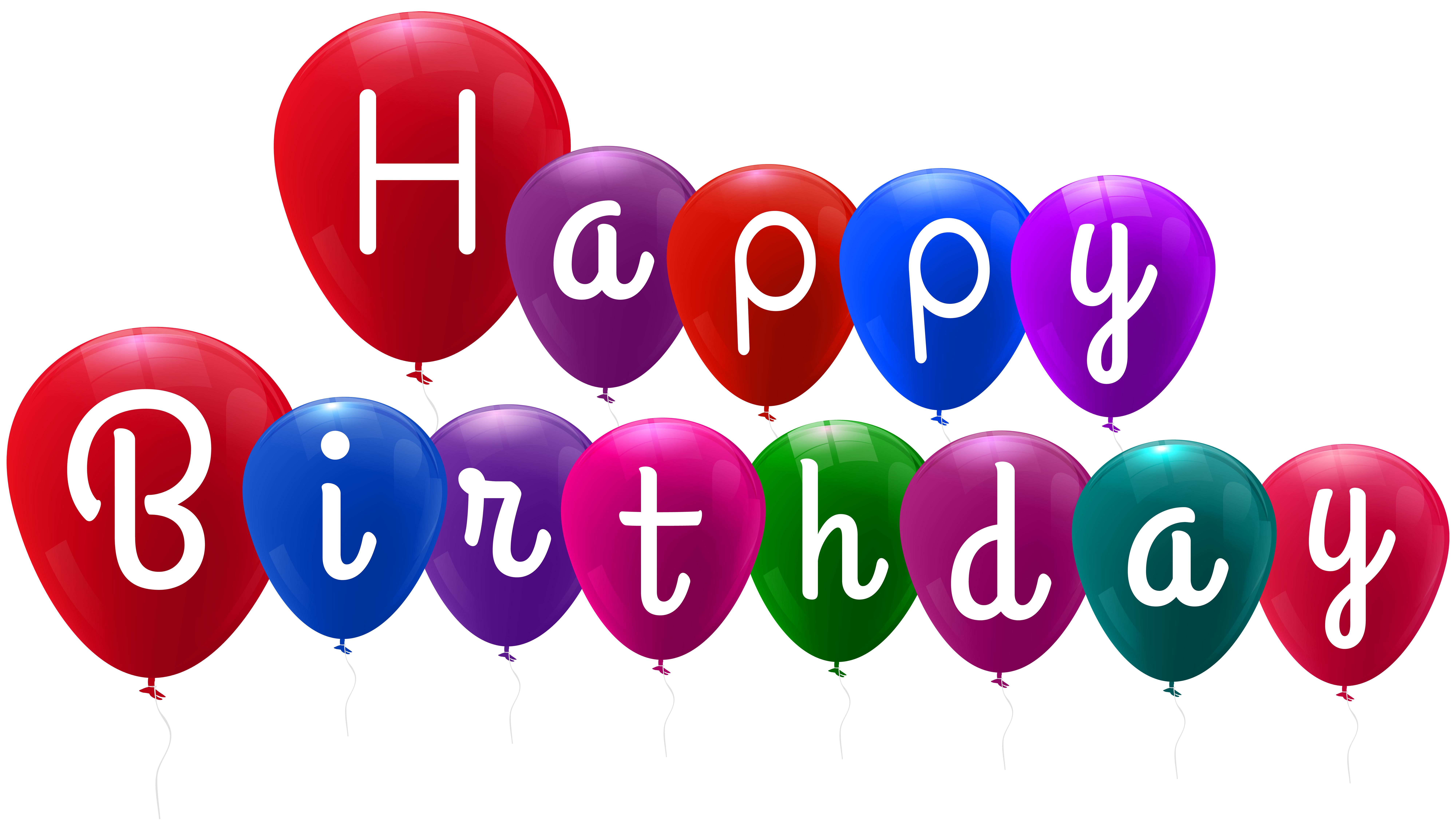 Birthday balloons png. Happy clip art gallery