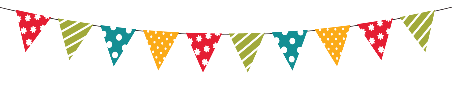 Party banners png. Happy birthday banner transparent