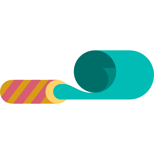 Party blower png. Fun birthday and new