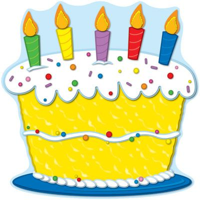 Birthday cake clipart. Teaching reading