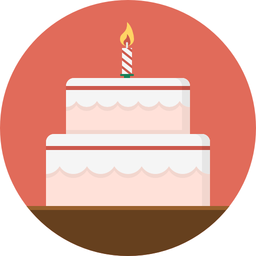Birthday cake icon png. Free food icons