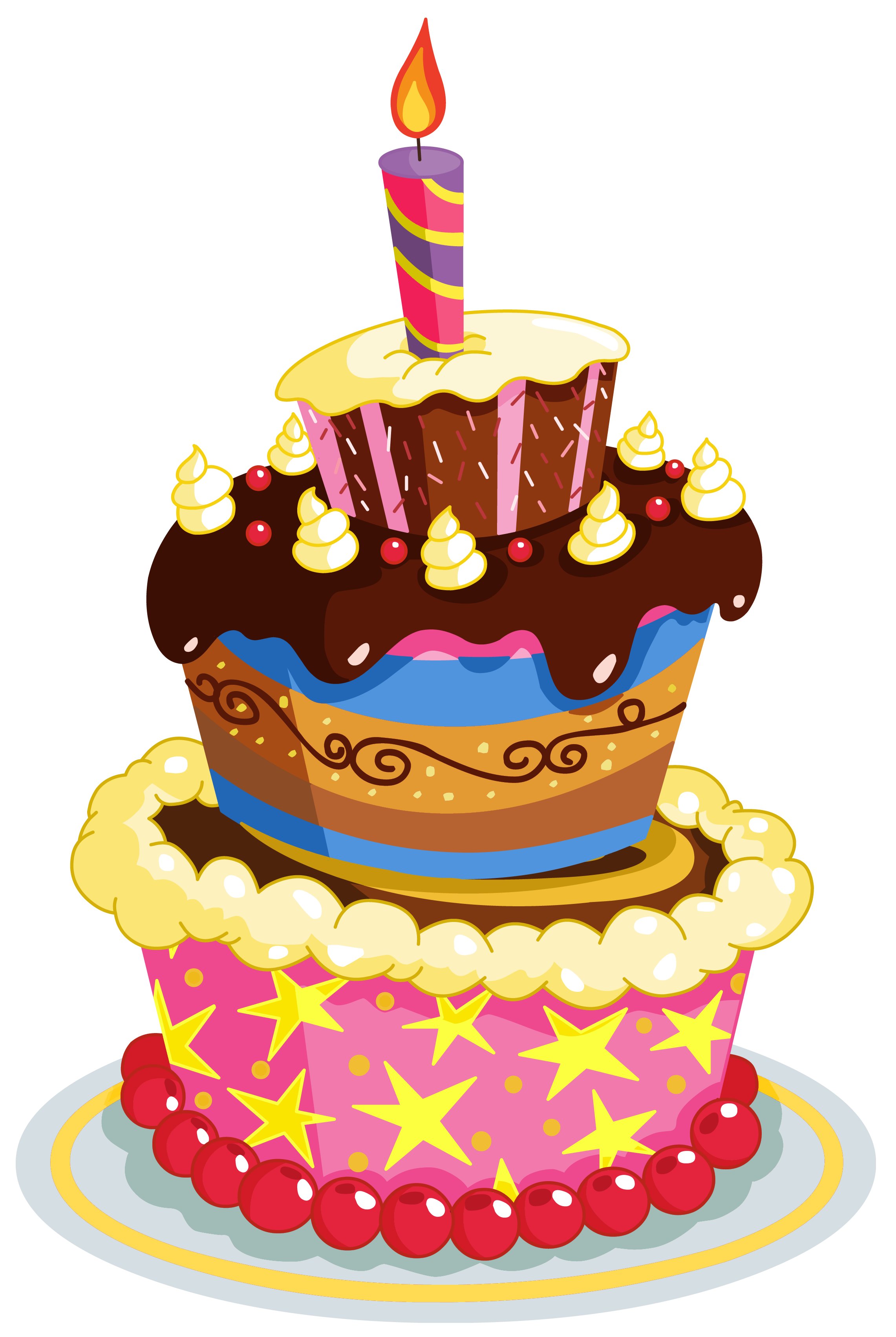 9 Birthday Cake Clip Art Png For Free Download On Ya Webdesign