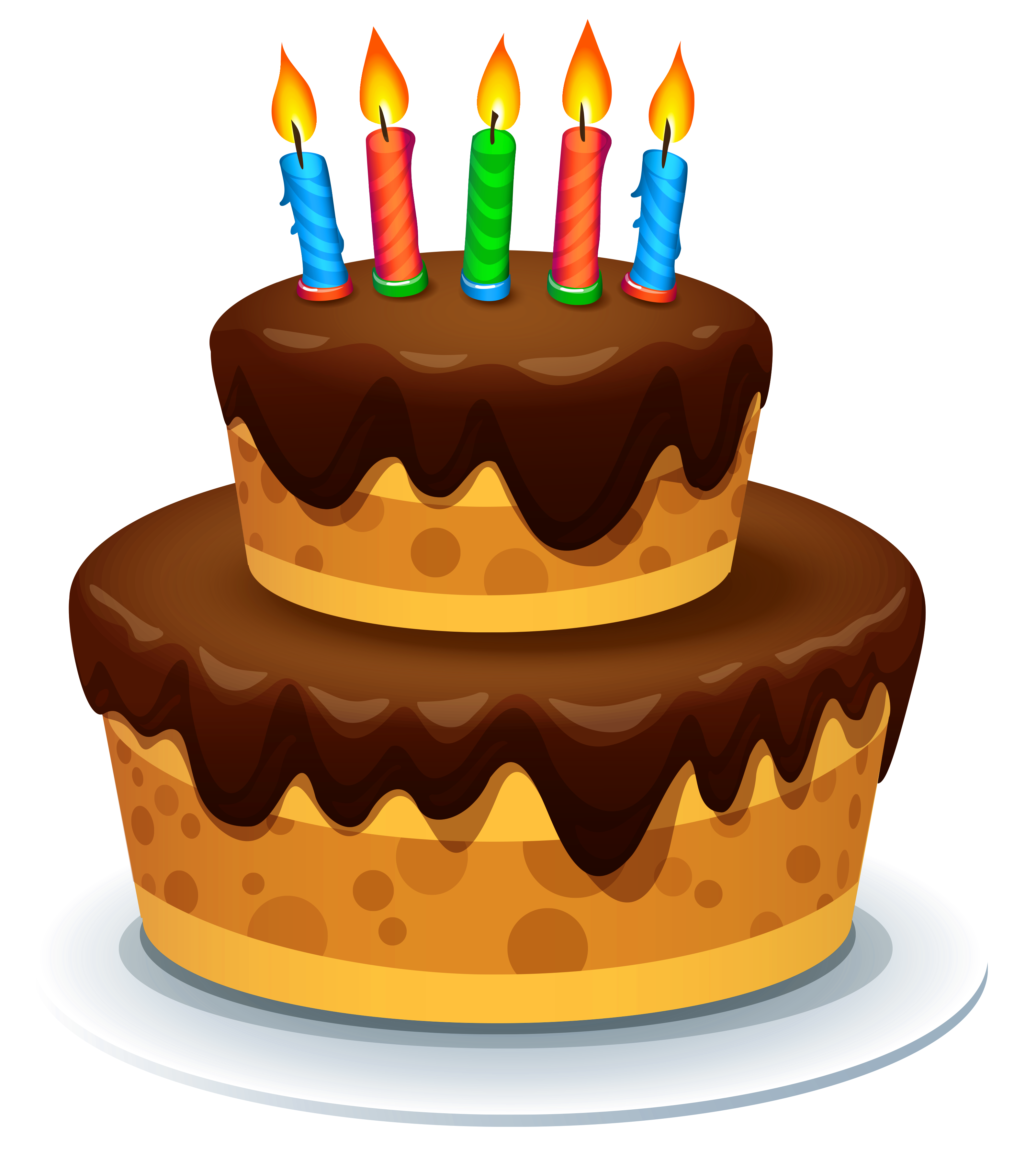 With candles png image. Cake clipart jpg transparent download