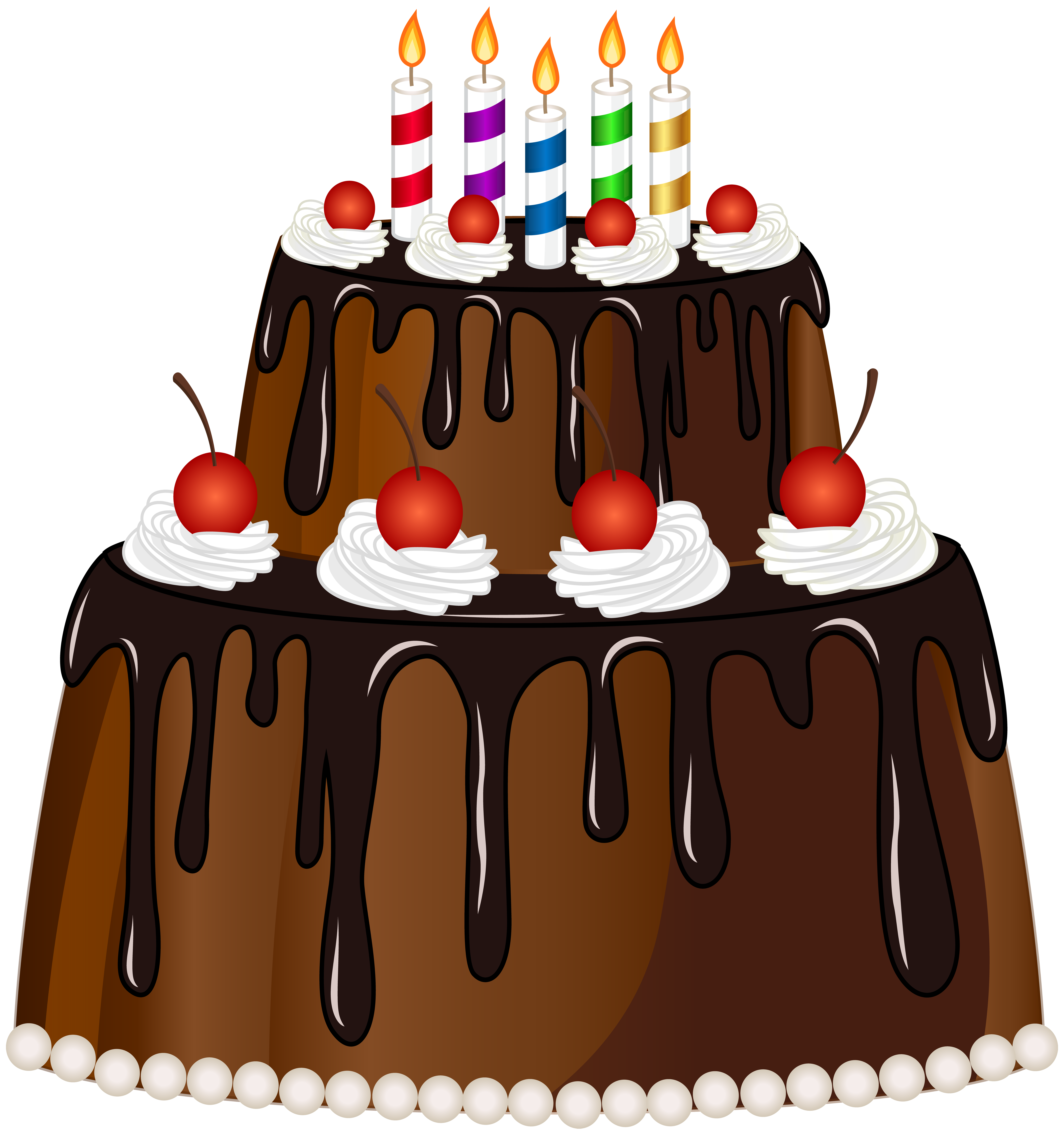 Outstanding Happy Birthday Cake With 5 Candles Transparent Png Clipart Free Personalised Birthday Cards Cominlily Jamesorg