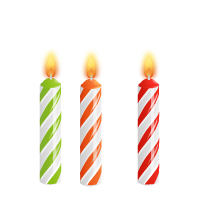 Birthday candles png images. Download free photo and