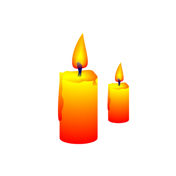 Birthday candles flames png. Candle flame fire clip