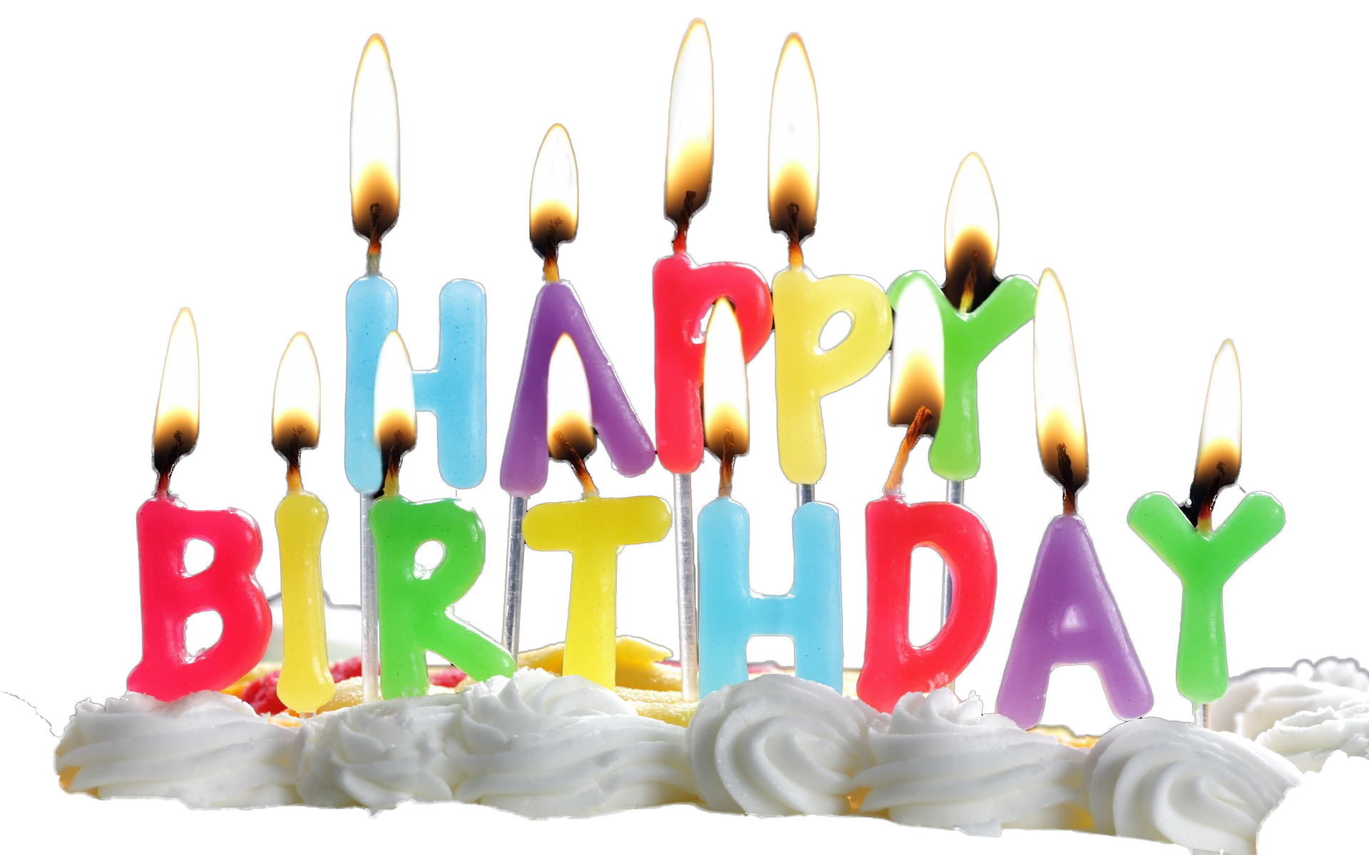 Cake candles png. Birthday with lacalabaza download