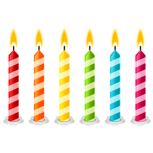 Birthday candles png images. Transparent pictures free icons