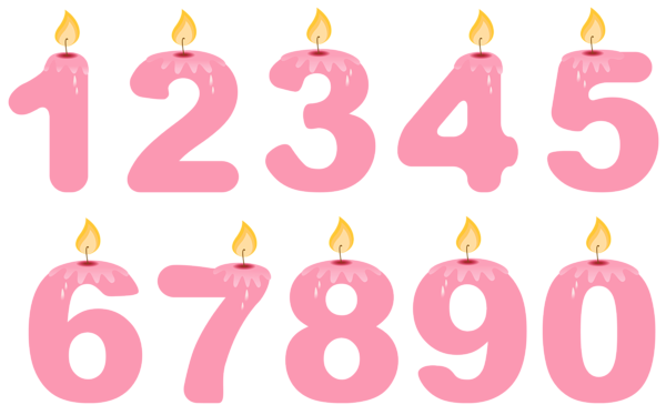 Birthday candles png images. Gallery happy