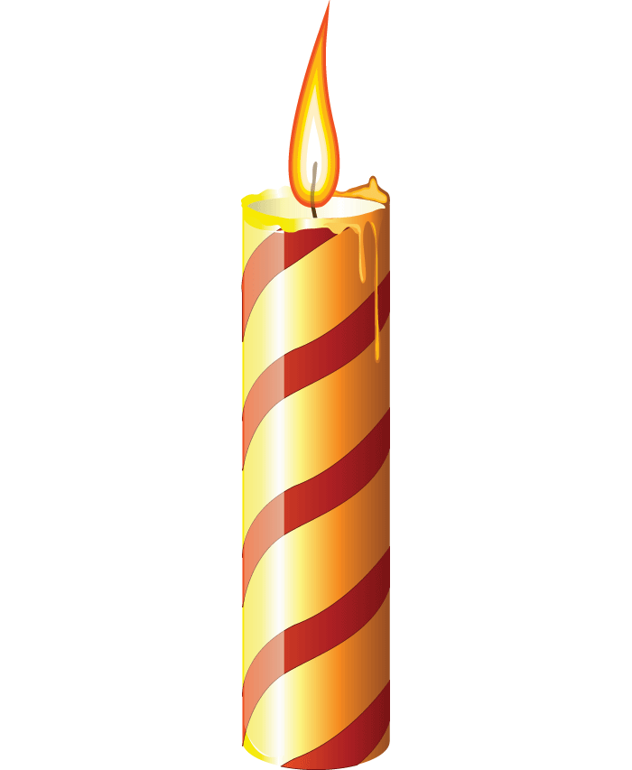 Birthday candles png transparent background. In high resolution web