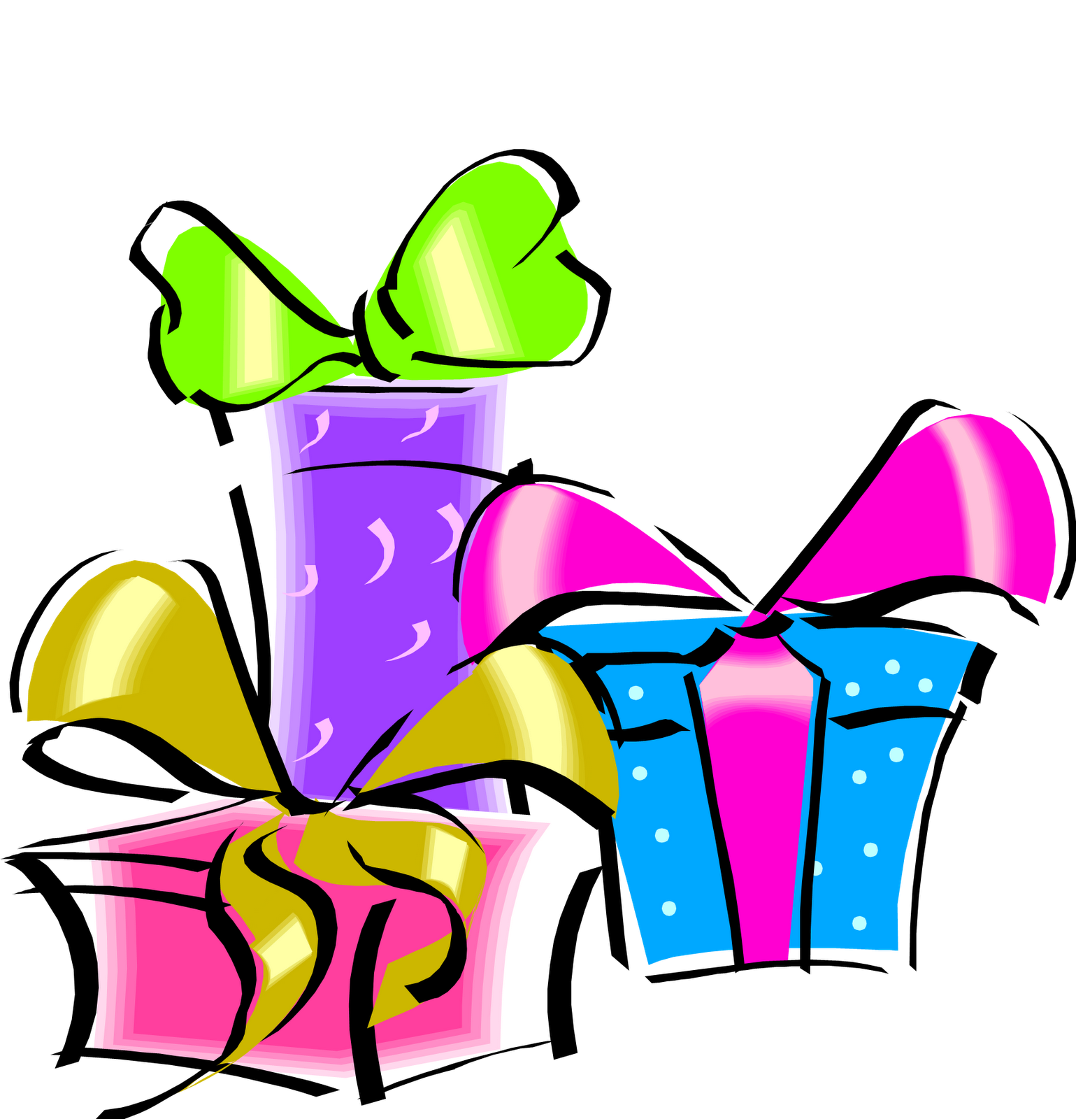 Birthday clip art png. Gift transparent pictures free clip art black and white stock