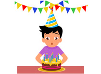 Character clipart birthday. Free clip art pictures