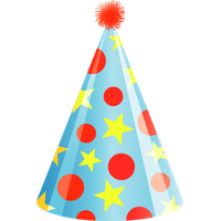 Birthday clipart hat. Download free png photo